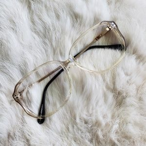 Accessories - Gold Wire Clear Frame Glasses